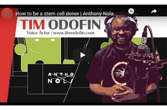 How to be a stem cell donor | Anthony Nolan