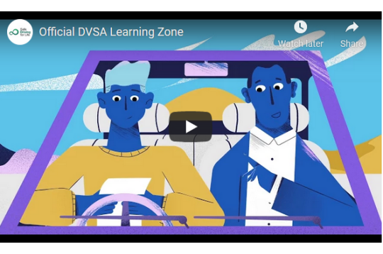 Official DVSA Learning Zone